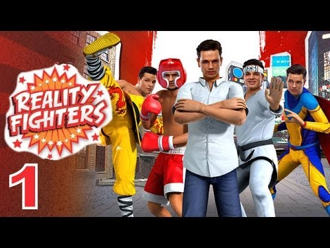 Reality Fighters PS VITA - 1080P Game Options + Single Player Story - Gameplay 1