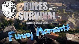 Rules of Survival Funny Moments 1#