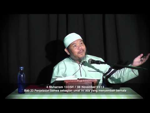 Bab 23 Bahwa Sebagian Umat Ini Ada Yg Menyembah Berhala 08112013 - Ustadz Abu Haidar Assundawy
