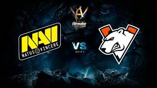 Natus Vincere vs Virtus.pro, Adrenaline Cyber League, bo3, game 2 [Mila & Inmate]