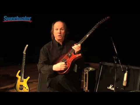Sweetwater - Adrian Belew Signature Parker Fly demonstration