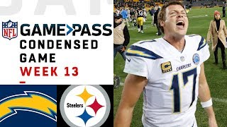 Chargers vs. Steelers | Week 13  NFL Game Pass Condensed Game of the Week