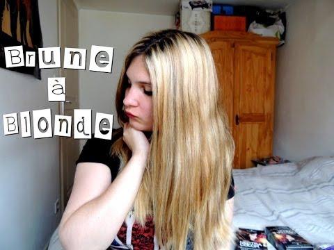 Comment passer de brune blonde youtube - Passer de blonde a brune ...