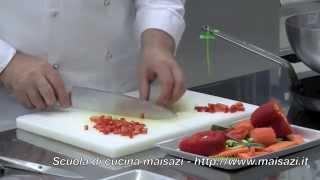 Corsi di cucina: Come tostare le verdure tagliate a mirepoix (o brunoise)