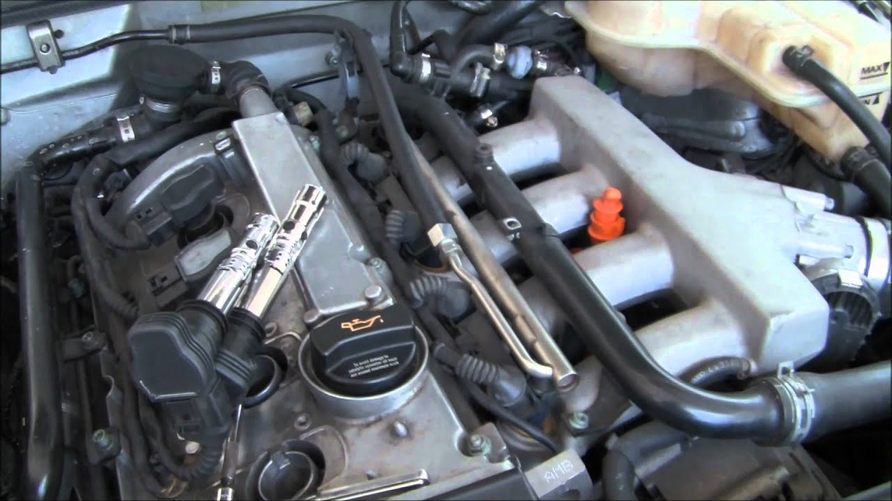 2004 audi a4   coolant flange replacement part 1