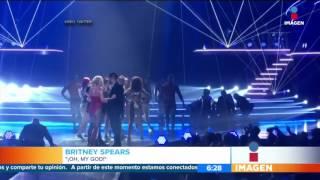 Pánico en concierto de Britney Spears | Noticias con Francisco Zea