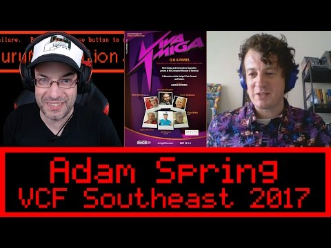 INTERVIEW: Adam Spring | Commodore Amiga Panel Vintage Computer Festival Southeast 5.0 2017