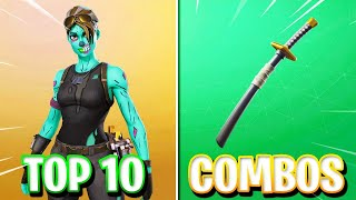 Top 10 SKIN + BACKBLING COMBOS in Fortnite! - (BEST Skin Combos in Fortnite) - TRYHARD Combos!