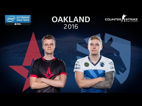 CS:GO - Astralis vs. Team Liquid [Train] - Group A - IEM Oakland 2016