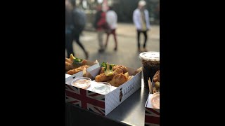 Infamous World-Class chef Gordon Ramsay Fish & Chips in Las Vegas LINQ on Christmas 2018   Real Pack
