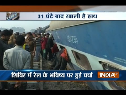Kanpur Train Accident: Railway Minister Suresh Prabhu Facing Tough Questions