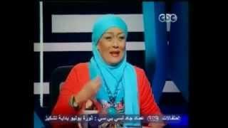 هالة فاخر تسخر من الرئيس د- محمد مرسي والشعب المصري