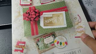 Stampin' Up! Holiday Catalog Pre-order 2018 haul