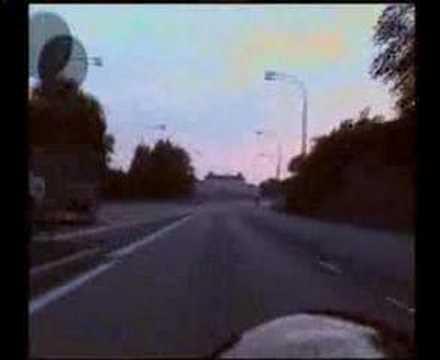 340 km/h en Ferrari F430 Scuderia Nov Ghostrider hayabusa police chase