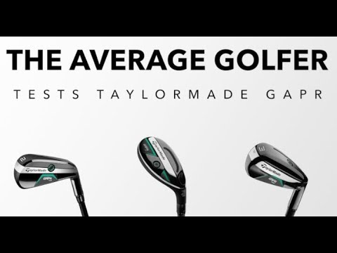 TaylorMade GAPR tested on course - The Average Golfer