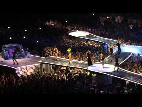 Lady Gaga - Judas   Aura  Barcelona video