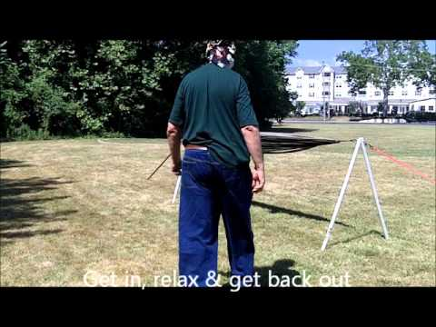 Stand-Alone Double-Bipod Hammock Support.wmv