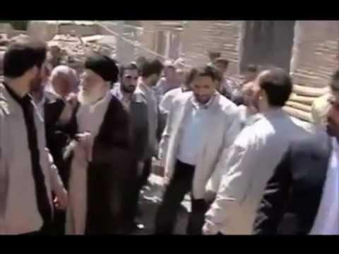 Ayatullah Khamenei visits Earthquake Villages