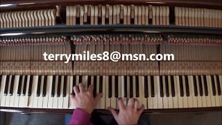 Boogie Woogie Piano Lesson For The People.... By Terry Miles