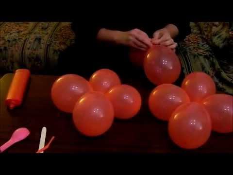 Babbo Natale eseguito con palloncini - YouTube