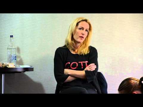 Gillian Anderson 2013 Milton Keynes Talk for SA-YES