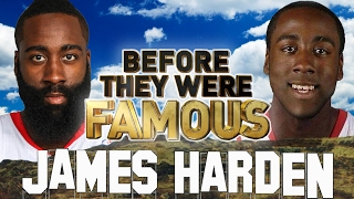 JAMES HARDEN - Before They Were Famous - Houston Rockets