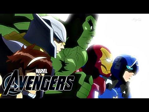 The Avengers vs Loki