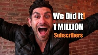 1 MILLION Subscribers!!!  Super Emotional Alpha M. Thank You Message