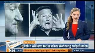 Robin Williams ist tot. Hollywood-Star beging Selbstmord