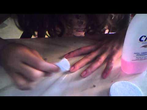 Pulizie delle unghie parte 1