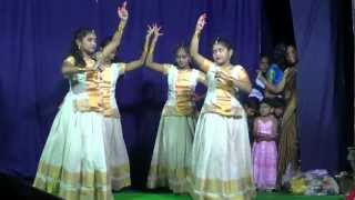 Ente Aduthu Nilkuval yesuvunde -  Christian devotional dance by Anjana Bijoy & Team, Hyderabad