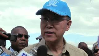 Secretary-General Ban Ki-moon visits Ethiopia
