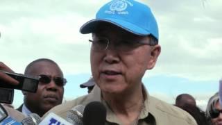 Secretary-General Ban Ki-moon visits Ethiopia
