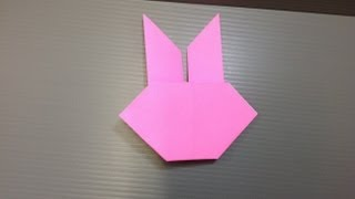 Daily Origami: 073 - Rabbit Head