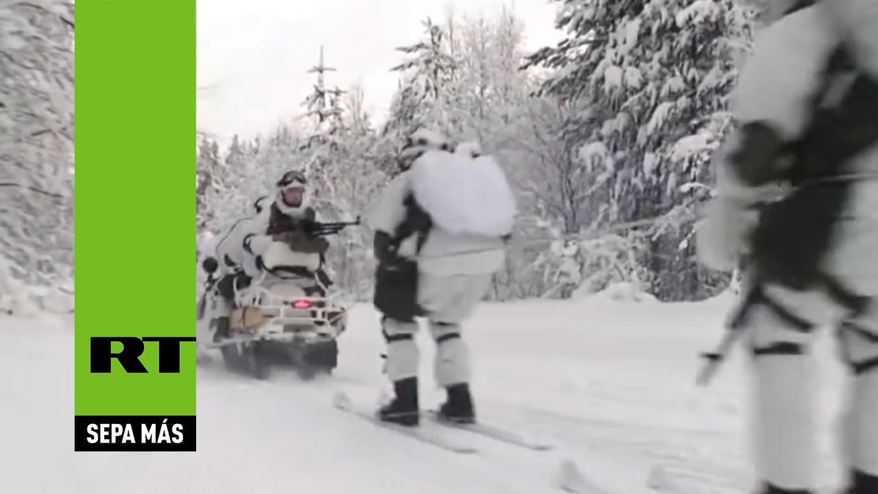 """""""Eficaces como un reloj"""": Tropas rusas destruyen un grupo 'terrorista' en el Ártico"""
