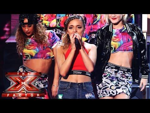 Lauren Platt X Factor week 7 performance