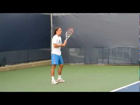 HD Alexandr Dolgopolov Practice at 2012 Cincinnati Masters Tennis