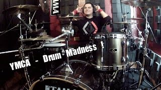 YMCA - The Village People - Drum Cover Madness - Manny Pedregon Version