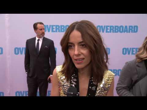 Overboard Los Angeles Premiere - Itw Cecilia Suarez (official Video)
