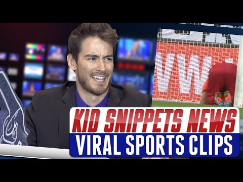 """Kid Snippets News: """"Viral Sports Clips"""" (Imagined by Kids)"""