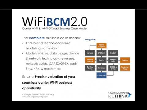 Maravedis-Rethink Webinar: Business and Deployment Issues for Carrier WiFi(Dated October 15th, 2013)