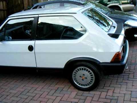 Fiat Strada Ritmo Abarth 130tc Youtube