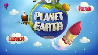 Planet Earth HD. Interactive Book for Kids. Geography, Animals and Science - app videos for kids