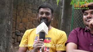Ashok Raja At Peigal Jakkirathai Movie Team Interview