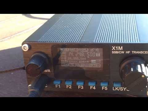 X1M PRO (Platinum) and AlexLoop Walkham - QRP DX