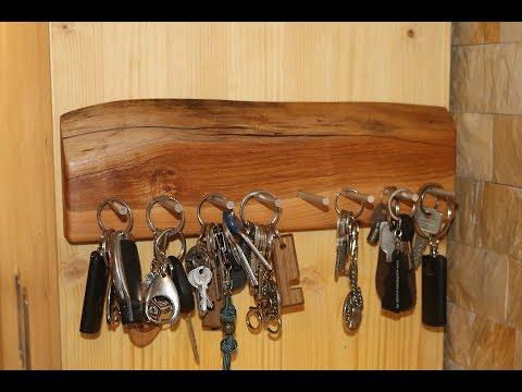 Schlüsselbrett aus Kirschholz / Key board from Cherry - diy
