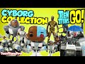 TEEN TITANS TOYS Cyborg Collection Featuring All Of Our Cyborg Teen Titans Go Teen Titans Toys mp3