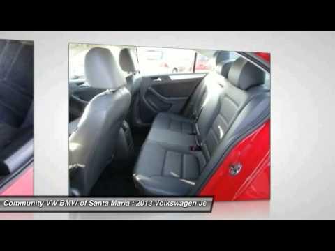 2013 Volkswagen Jetta Sedan SAN LUIS OBISPO,SANTA BARBARA,SANTA MARIA,PASO ROBLES,BAKERSFIELD 4634U
