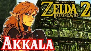 Zonai & Sheikah Secrets in Akkala - Breath of the Wild 2 Theory