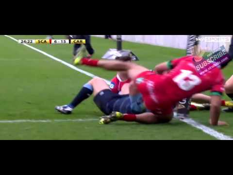 Highlights: Scarlets vs Cardiff (22-28) - Welish Rugby  League - 3rd April 2016 - 3/4/2016